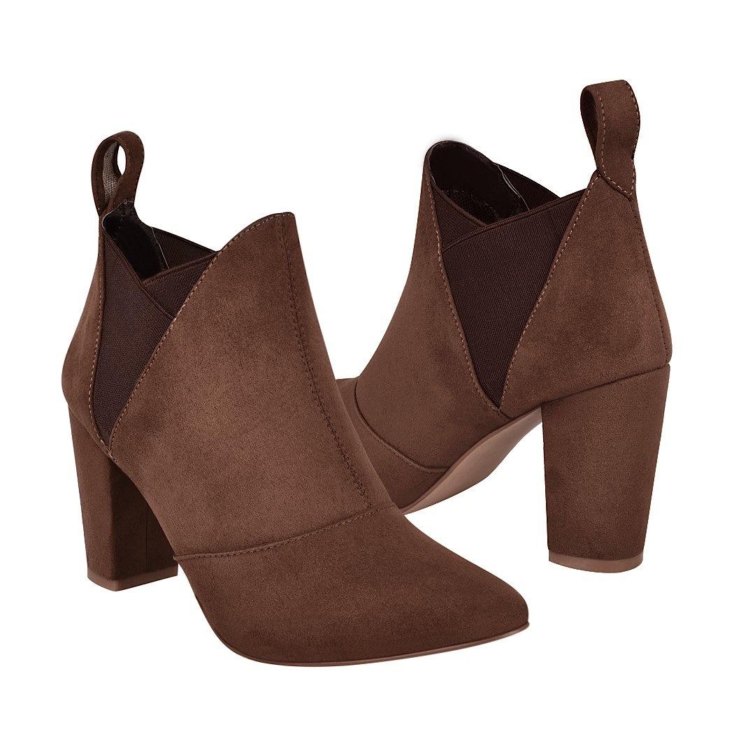 298a073e1 ... botas de moda para dama stylo 10823 madera -C174177-1 ...