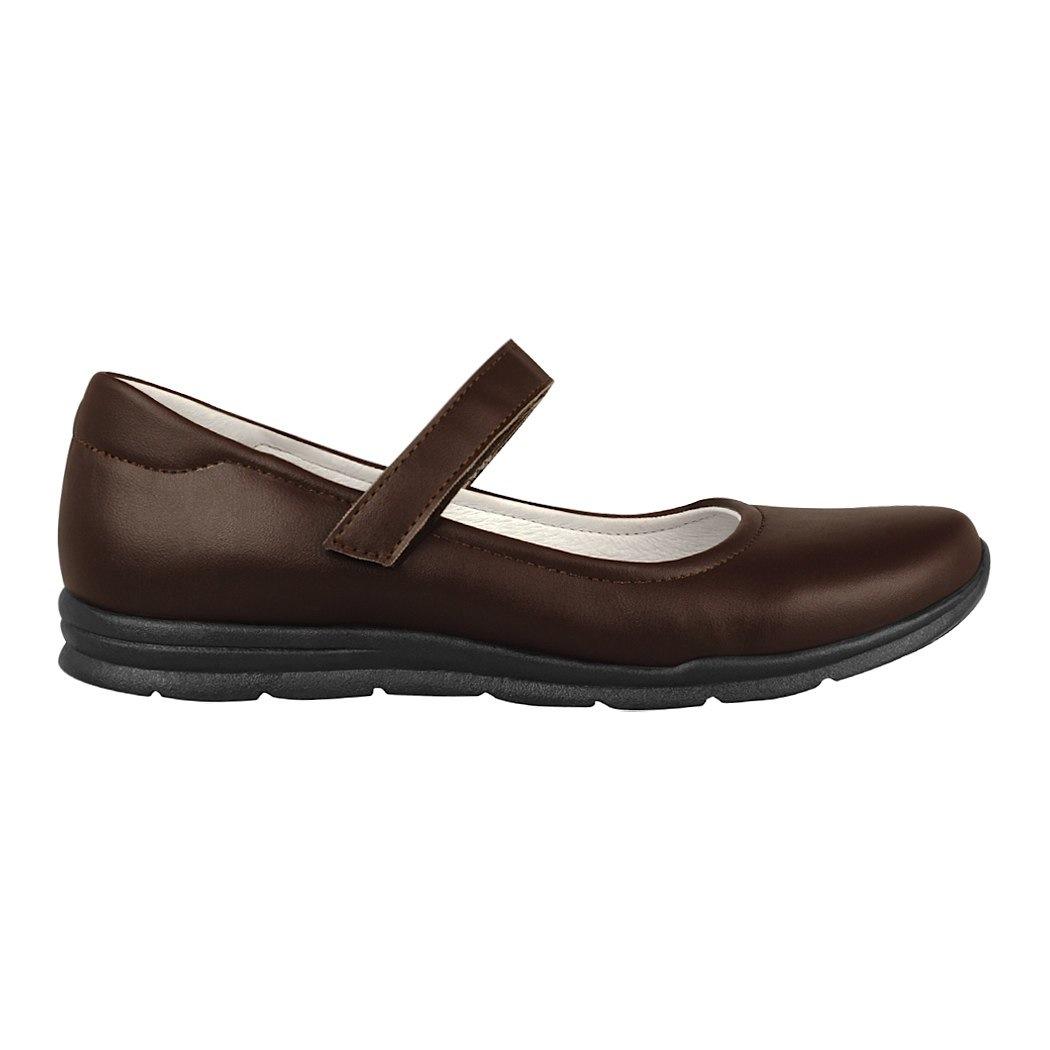 0f7e3df3 ... zapato escolar dominiq para niña simipiel café 1161 -C179015- ...