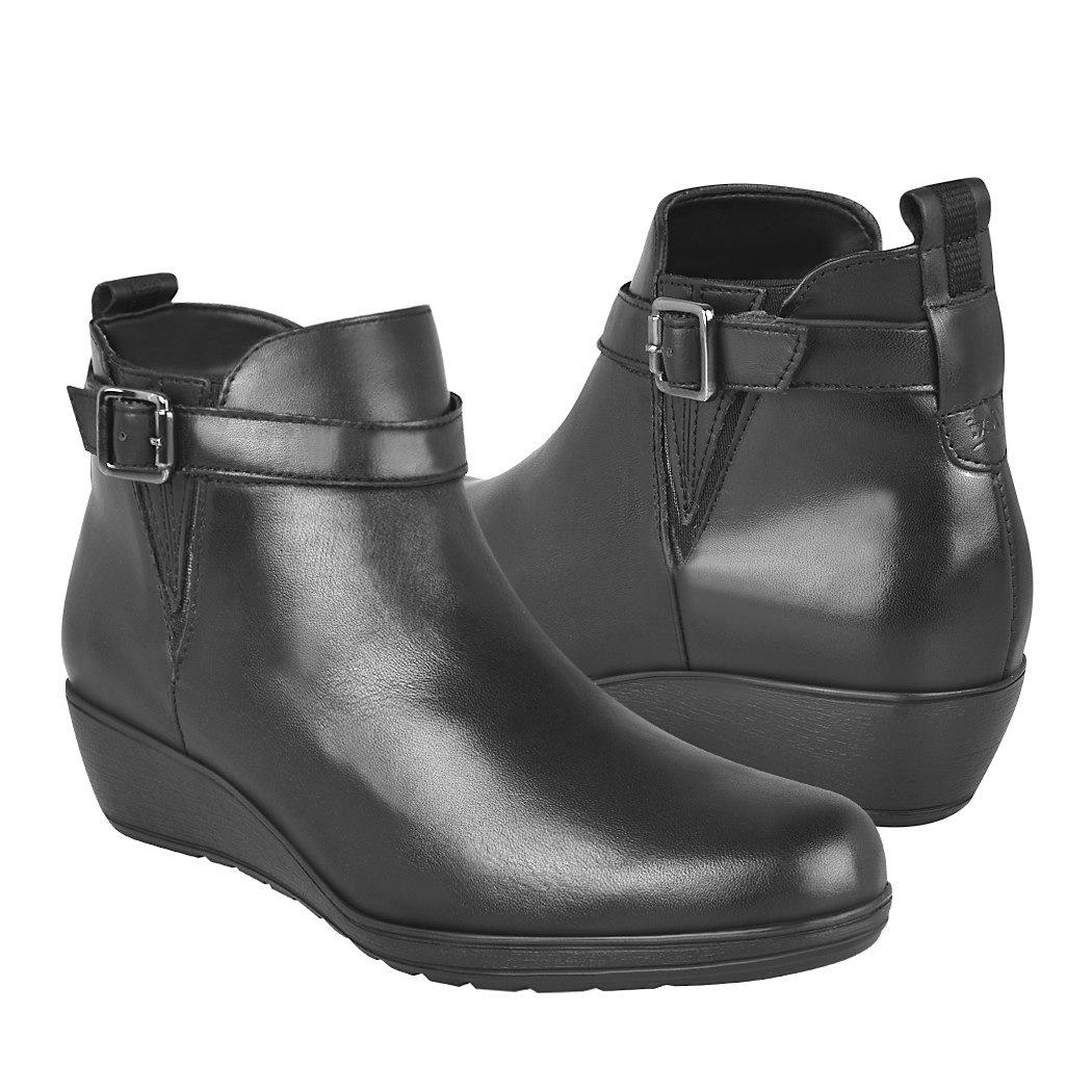 cb03f8e446 ... botas de vestir para dama flexi 35107 piel negro -C190291-1 ...