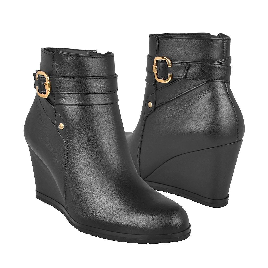 ae162f4136 ... botas de vestir para dama flexi 45910 negro -C190303-4 ...