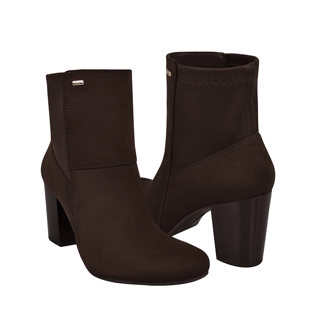 9a9bb08e98 ... botas de vestir para dama flexi 37907 café -C190319- ...