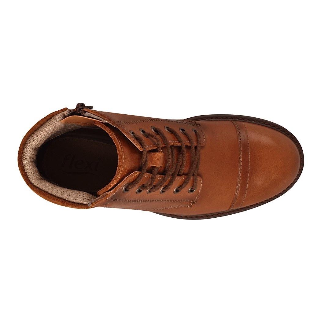 a6af78c2fd6 ... botas casuales para caballero flexi 95001 piel tan -D190149- ...