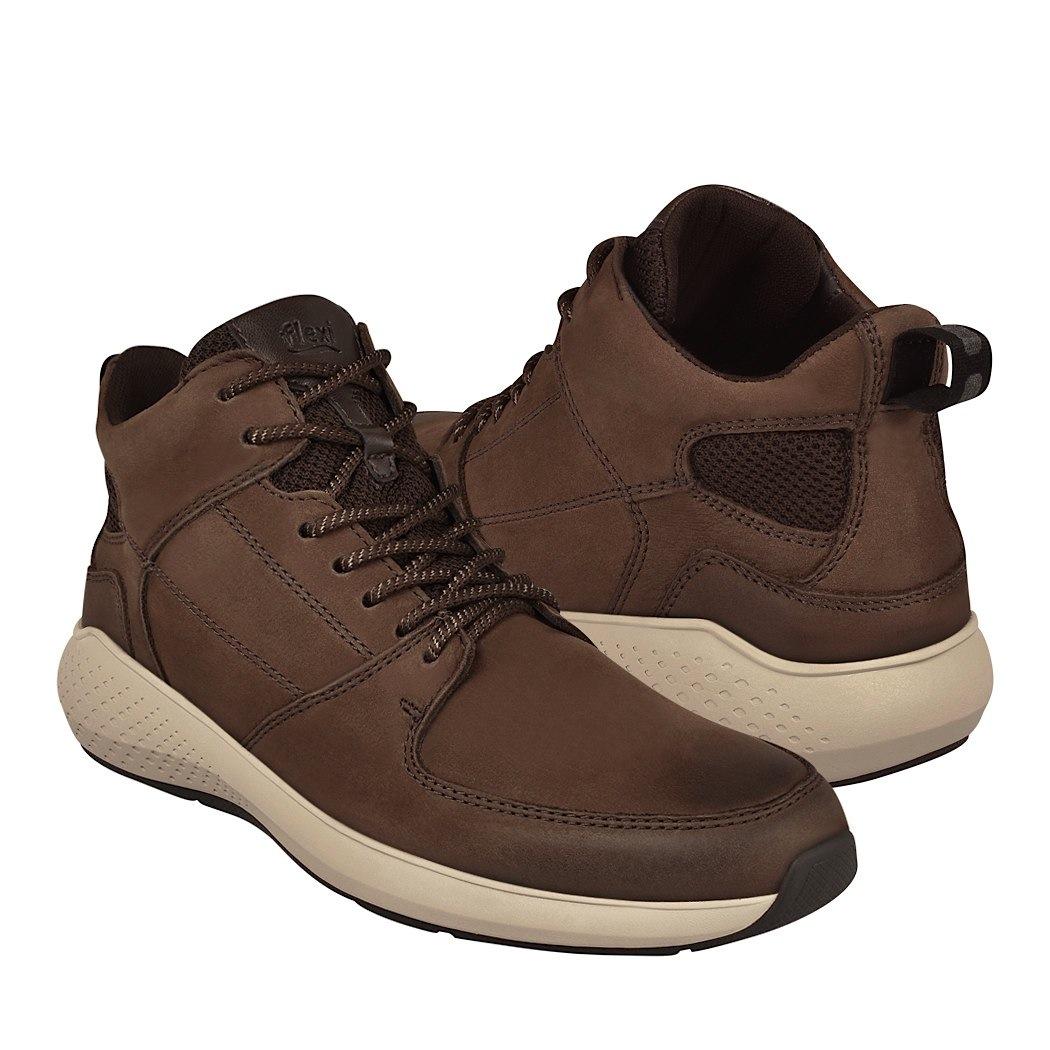 5538ba6a232 ... zapatos casuales para caballero flexi 401604 chocolate -D190162-1 ...