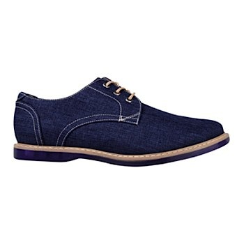 zapatos casuales stylo 2001 textil azul -D340005-3