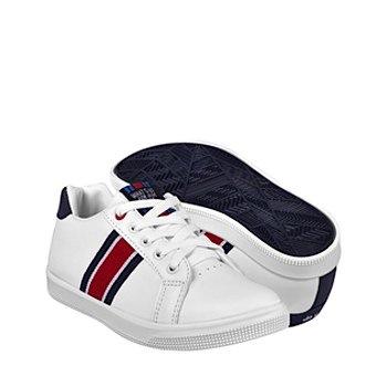 tenis casuales para niño what´s up 160191 blanco