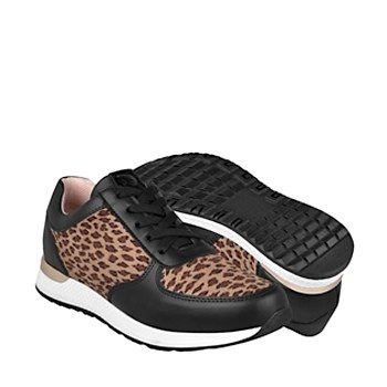 tenis casuales para dama urban up 1737 negro