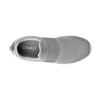 Tenis casuales para dama charly  1049297 gris