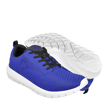 Tenis casuales para caballero charly 1021946 textil azul