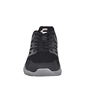 Tenis casuales para caballero charly 1029349 textil negro